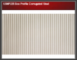 Wills SSMP225 Box Profile Corrugated Steel